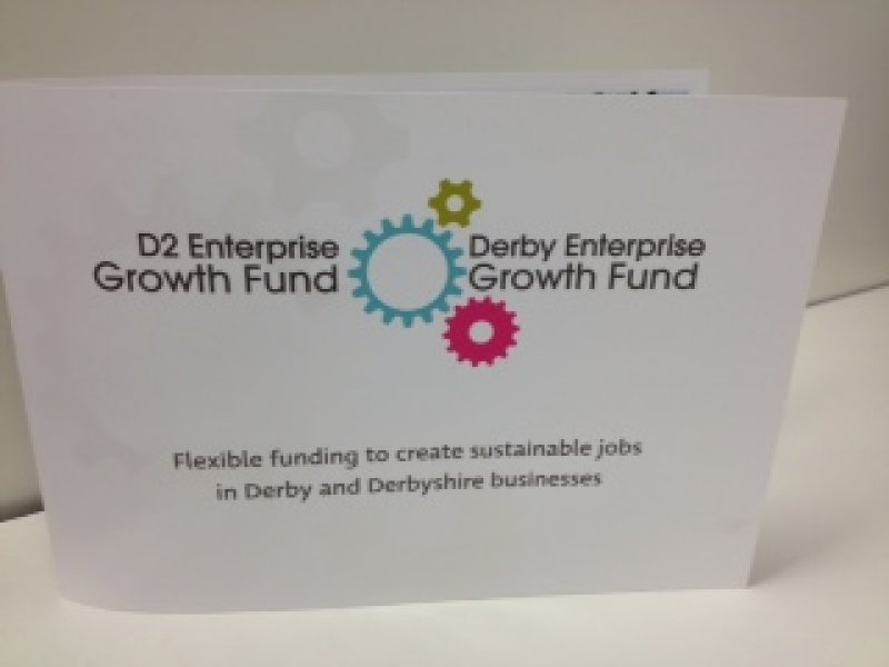 Come and meet the Derby & Derbyshire Enterprise Growth Fund team on Stand R9