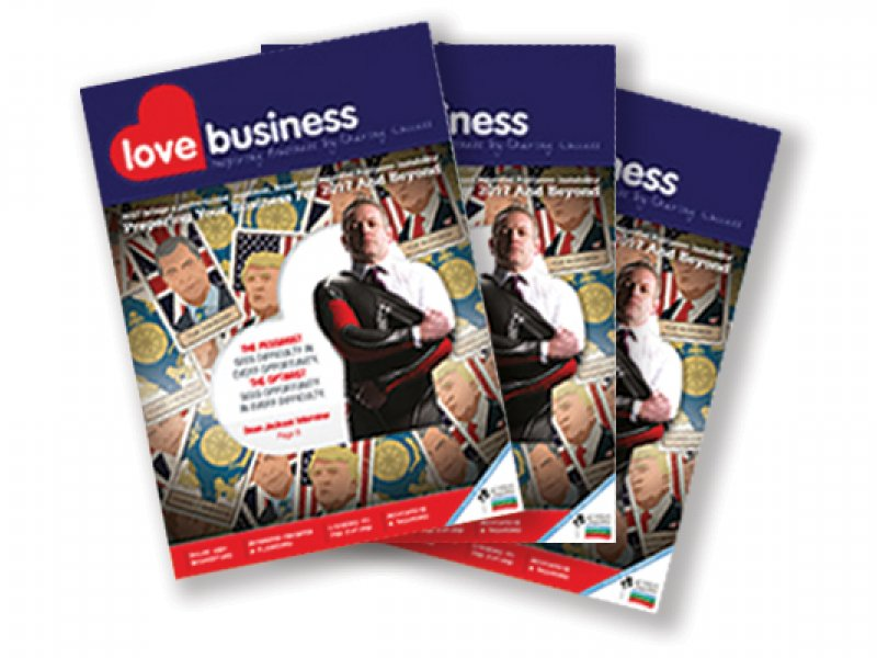 The Love Business Magazine doubles up as the  FREE Official Expo Guide - 10% Discount Off Adverts Booked Before 19th January 2018