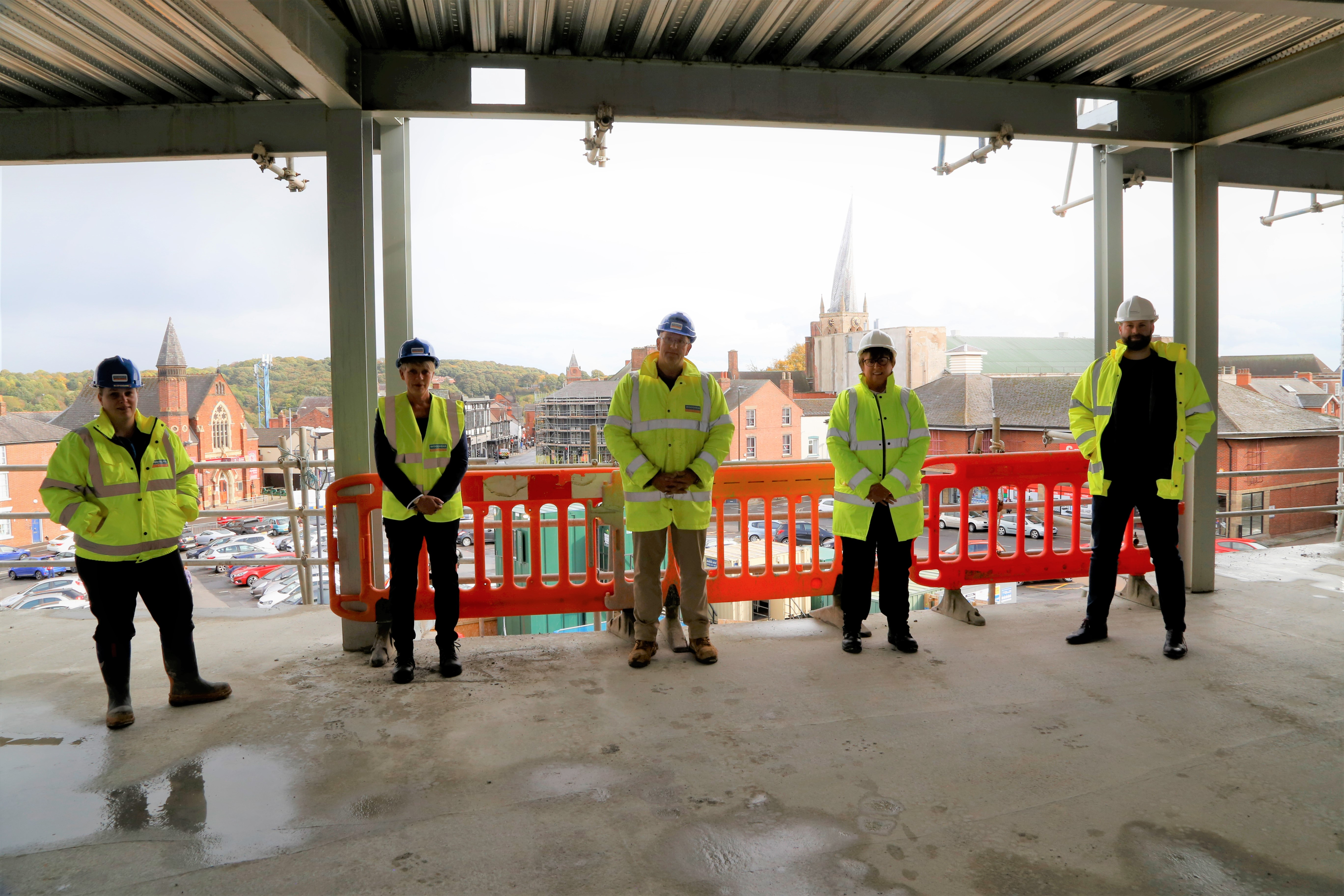 Chesterfield Borough Council - Mentoring Programme Launches at Key Project Milestone