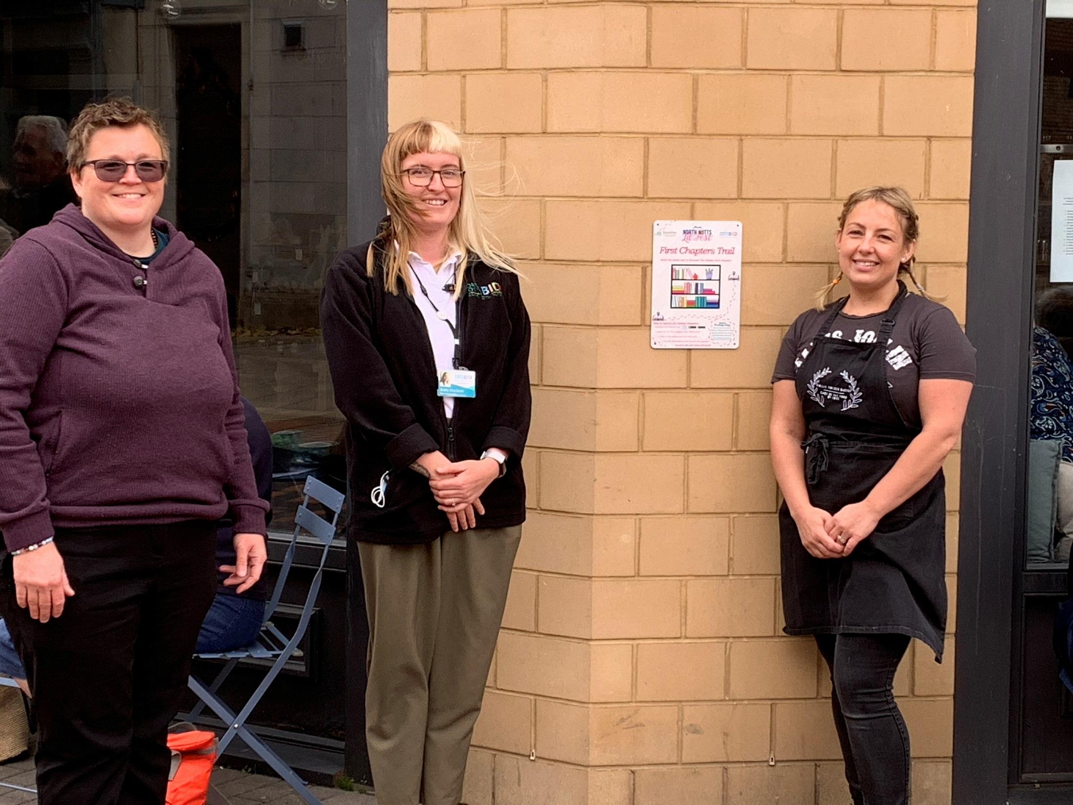 Local bid members back bookcase trail