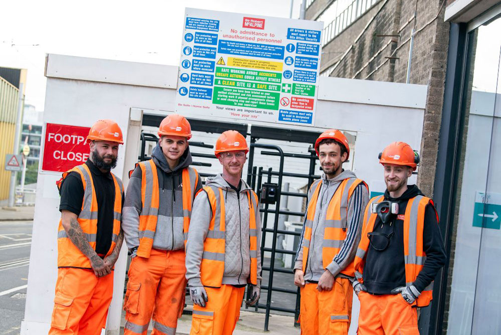 Free Training 'Just the Job' for City's Young Construction Workers
