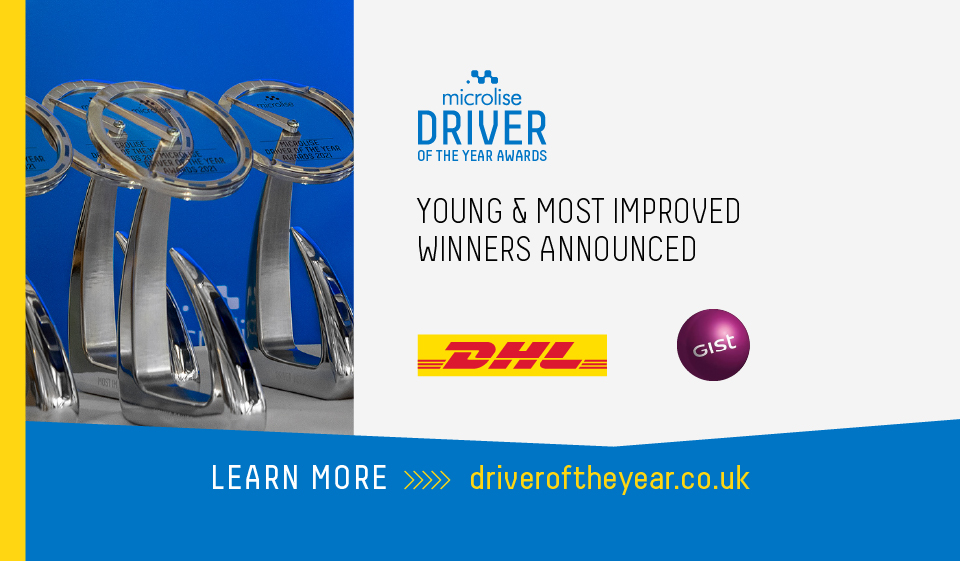 Young & Improved Drivers Continue To Raise The Bar - Microlise Driver of the Year Awards 2021