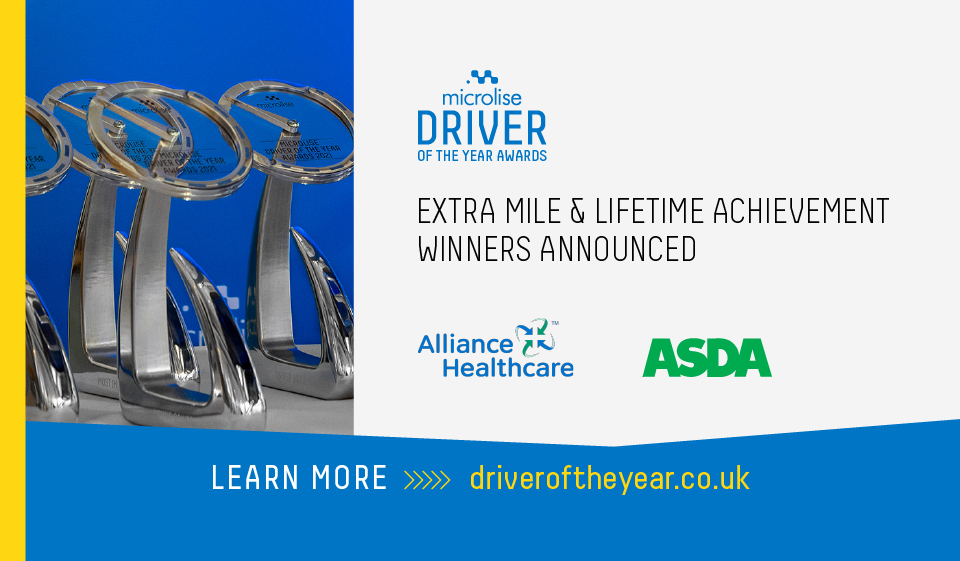 Two Leading Lights Win Microlise Driver of the Year Awards 2020