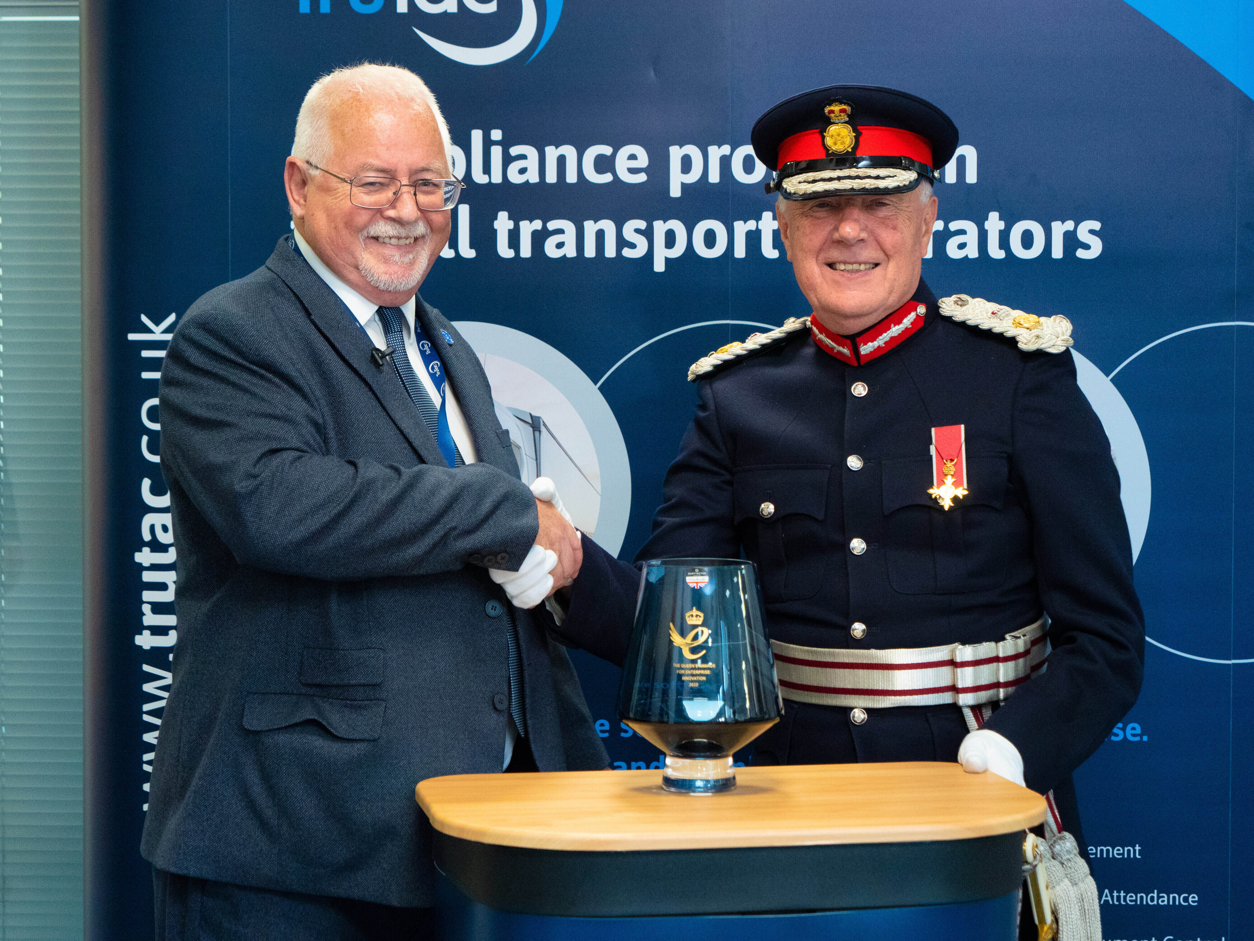 TruTac presented with Queen's Award for Innovation