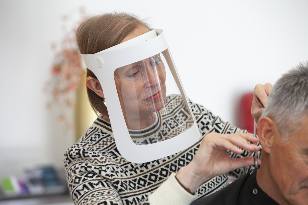 Leicester Company Launches Disposable and Recyclable Cardboard Face Shield