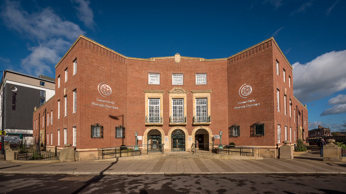 Riverside Chambers welcomes Derby Sales & Information Centre ahead of Assembly Rooms refurbishment