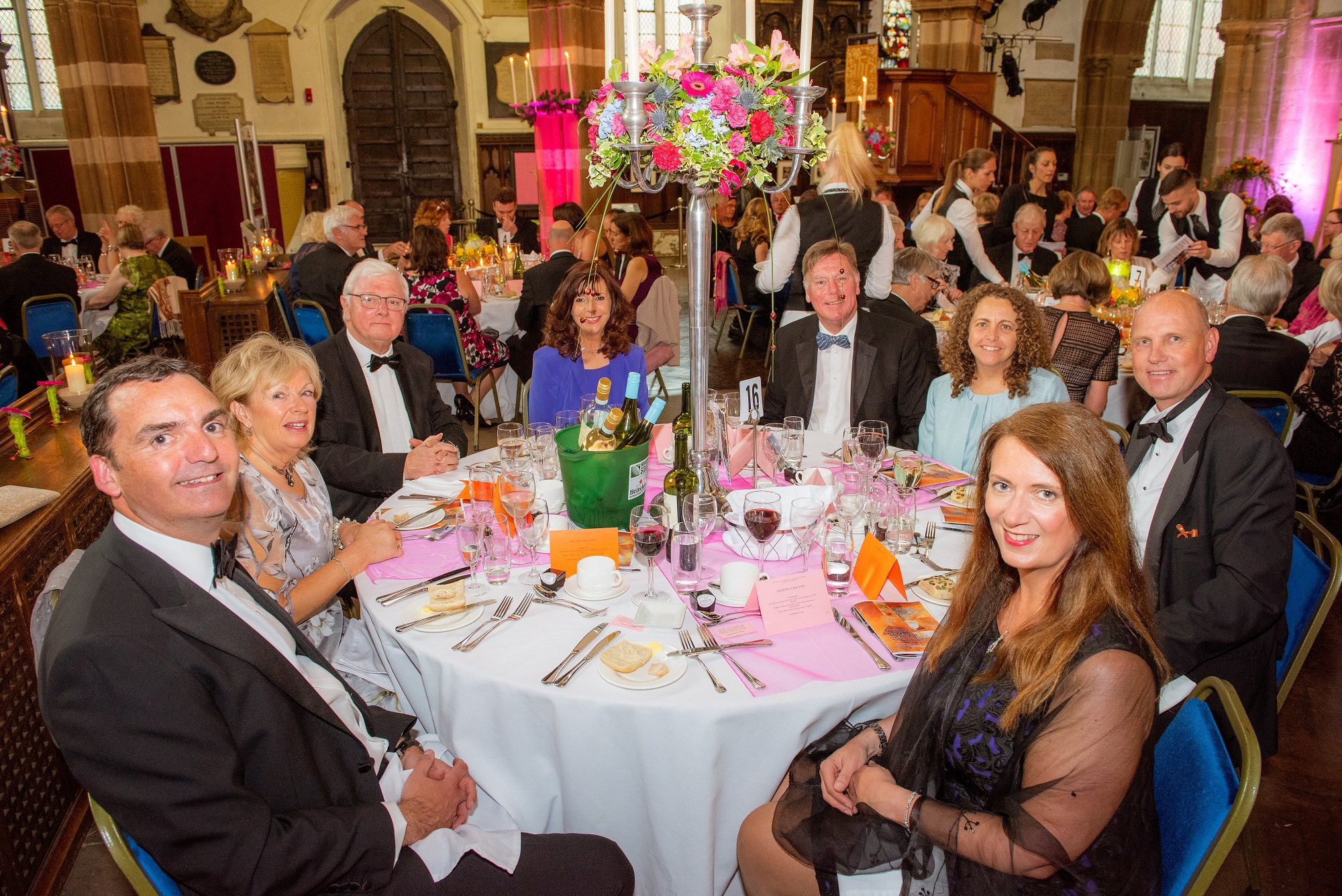 Local accountants sponsor prestigious Leicester Cathedral Annual Dinner