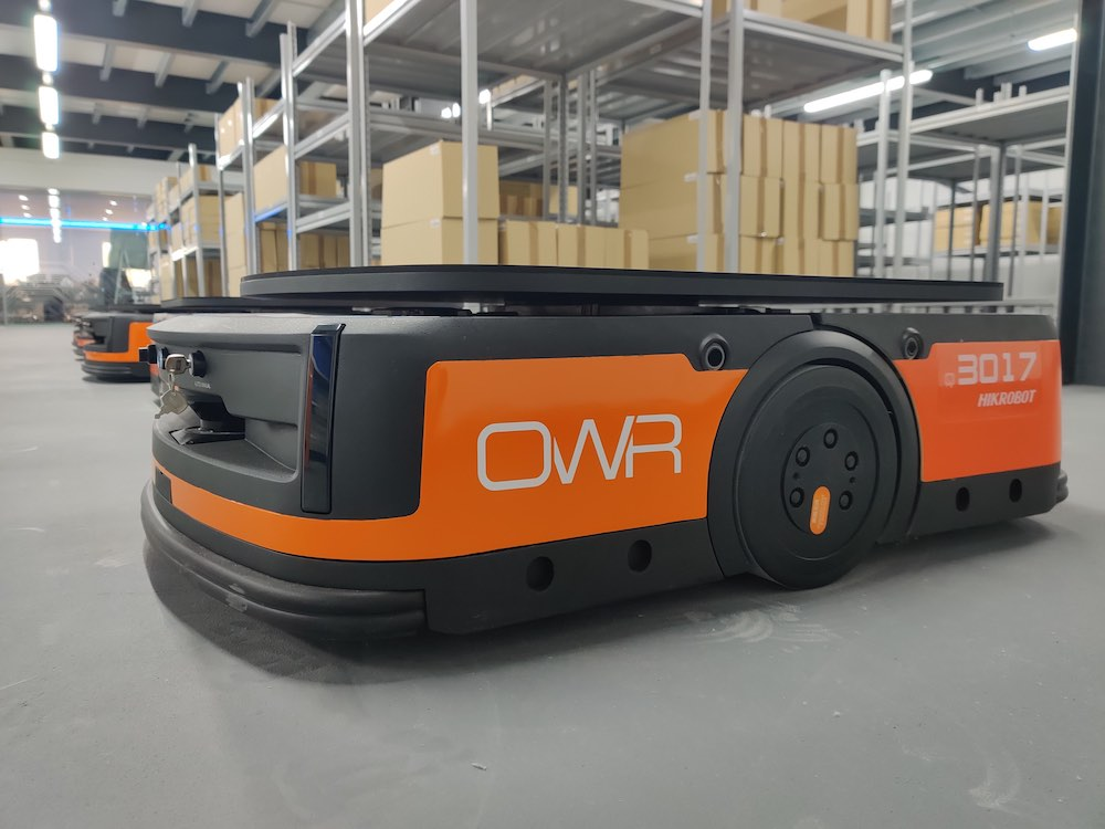 Hikrobot announces OW Robotics as new UK partner
