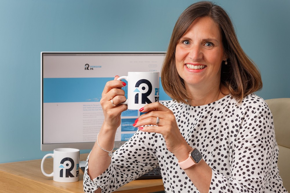 Derby's Penguin PR marks its 10th birthday with brand and website makeover