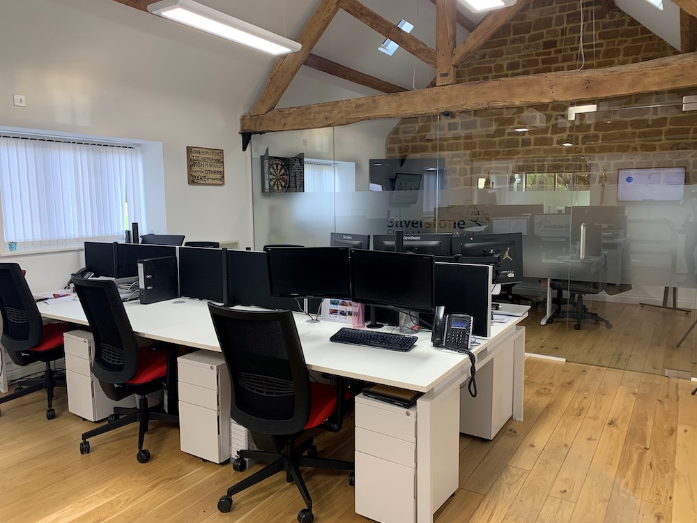 Fleet Firm Marks Anniversary With Office Refurb