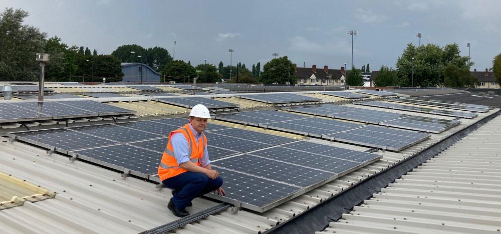 Burton businesses drive benchmark green initiative