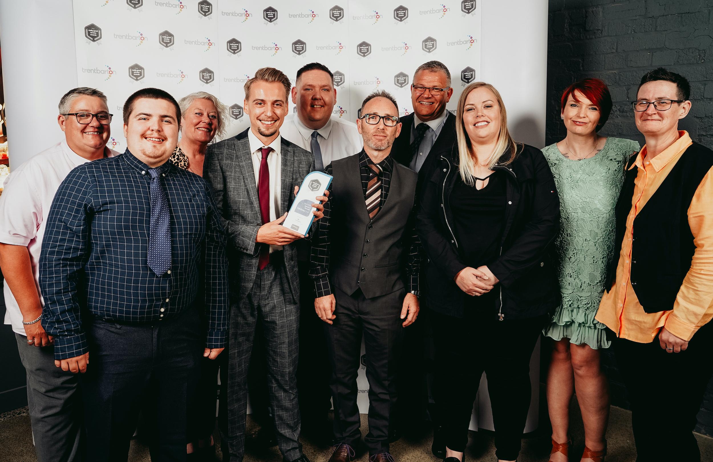 Driver David triumphs at trentbarton awards