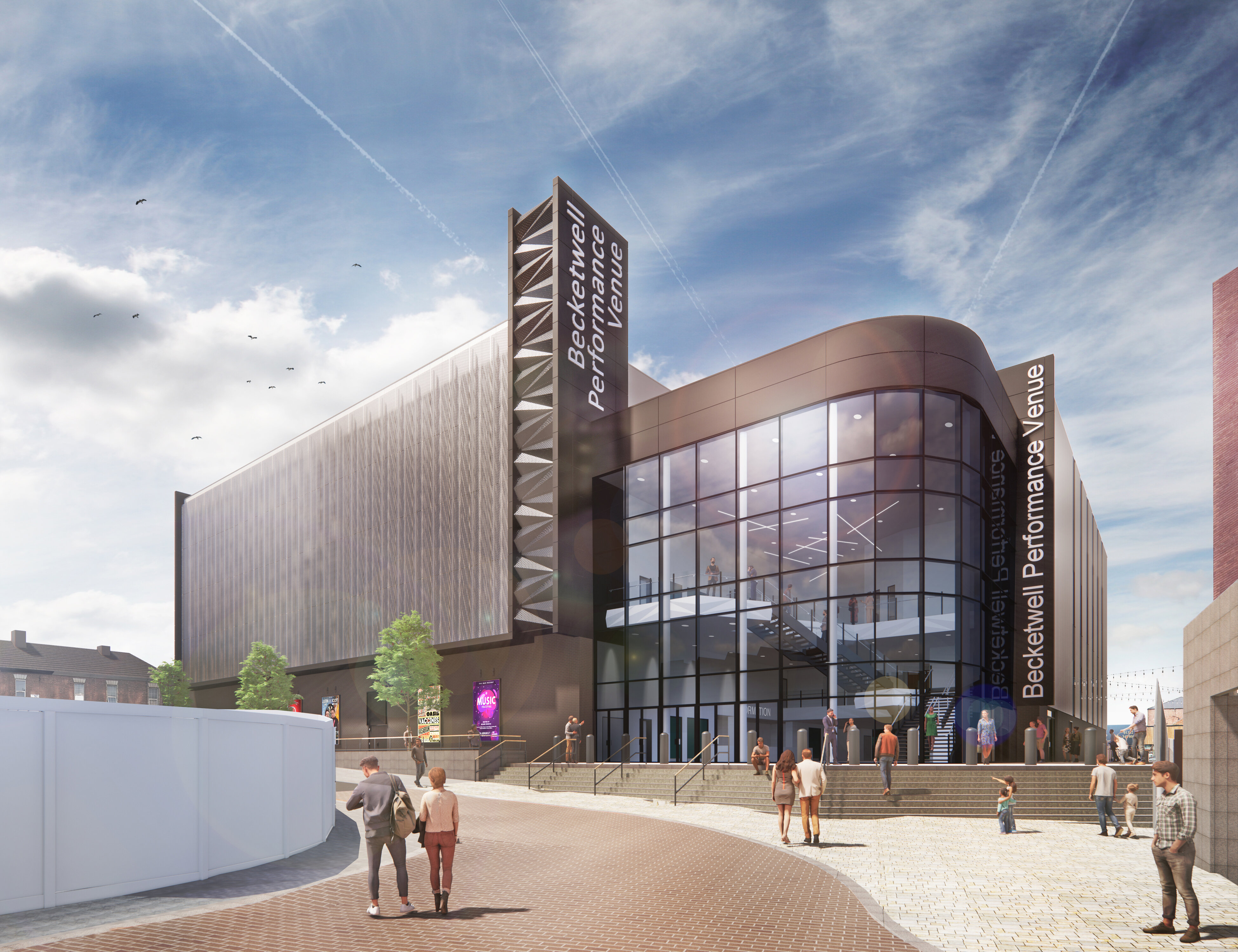 PLANNING APPLICATION SUBMITTED FOR NEW 3,500 CAPACITY PERFORMANCE VENUE AT BECKETWELL DERBY