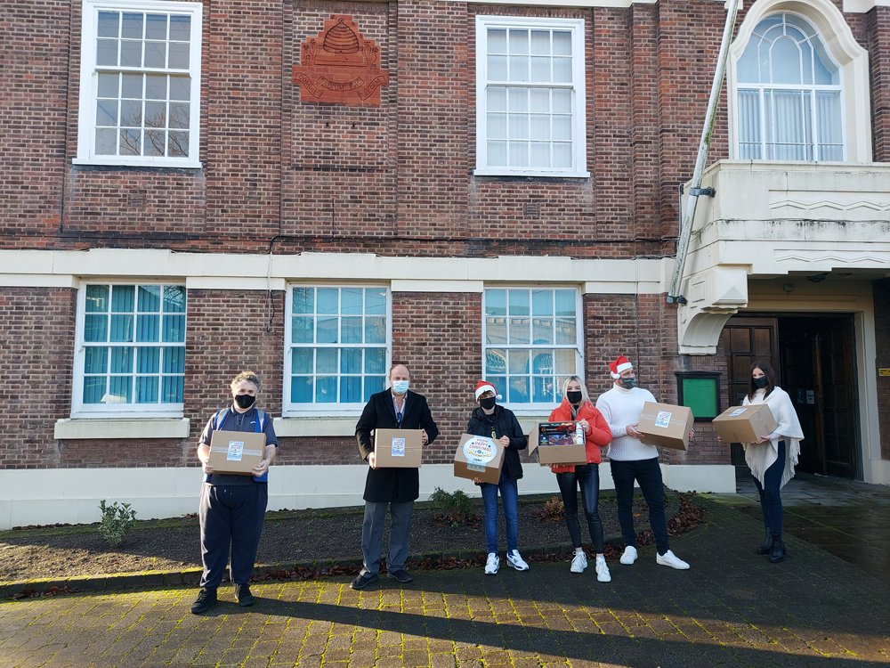 Hampers For Heroes at The Wilkins Group Delivers Hundreds to Local People