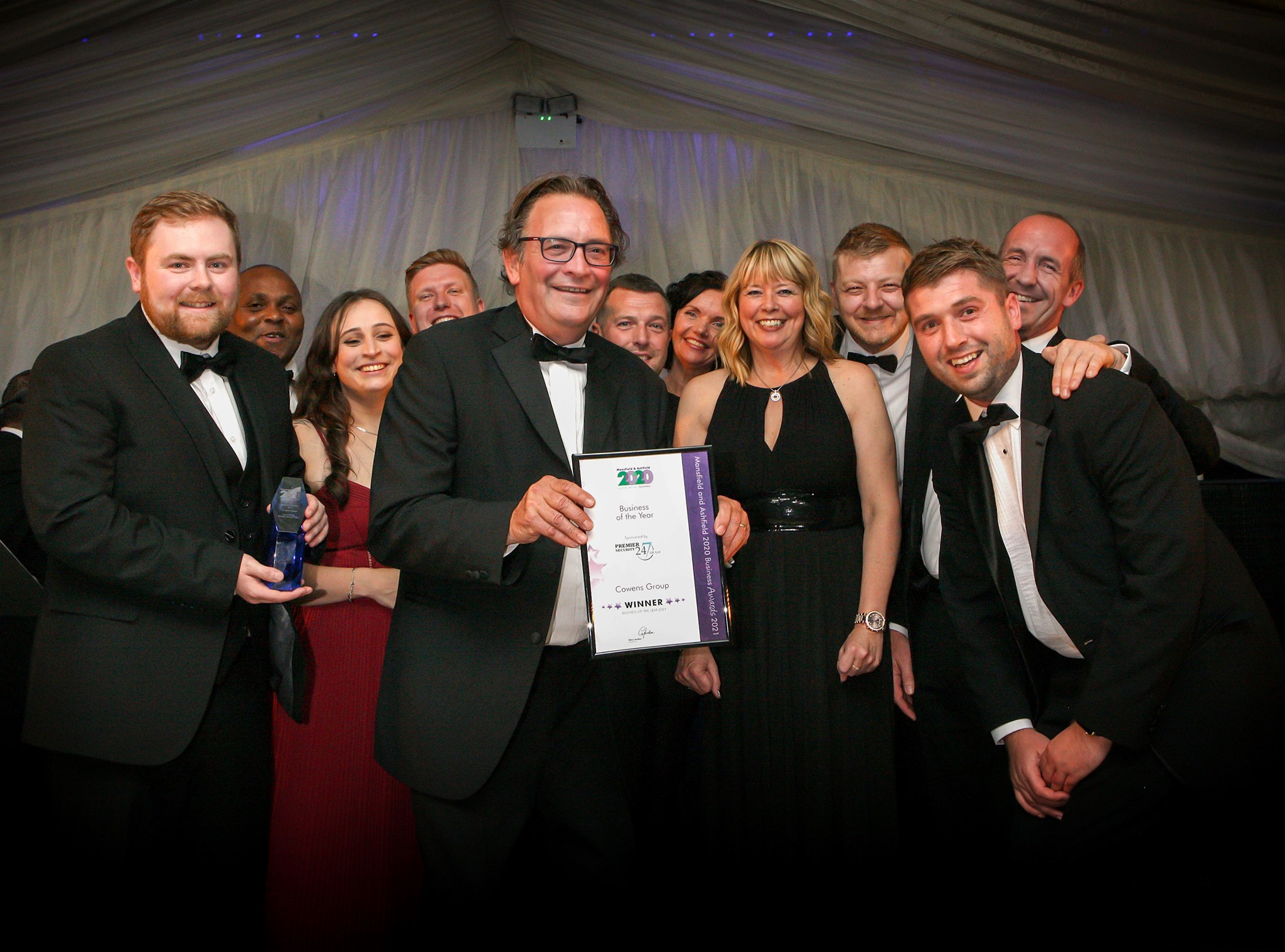 Cowens wins 2021 Business of the Year Award
