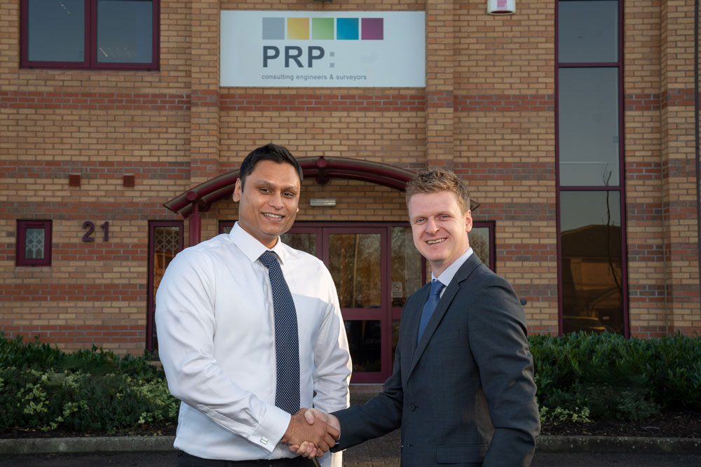 PRP Consulting Engineers and Surveyors celebrate 35 years with two new directors