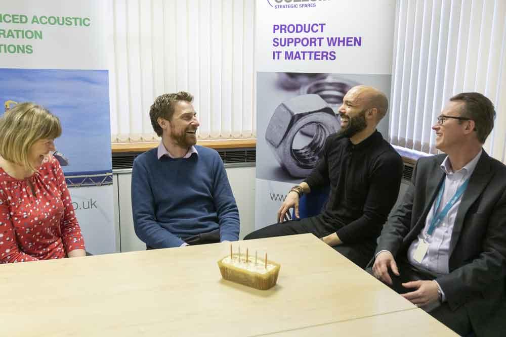 Businesses combine skills to help company celebrate 60th Anniversary