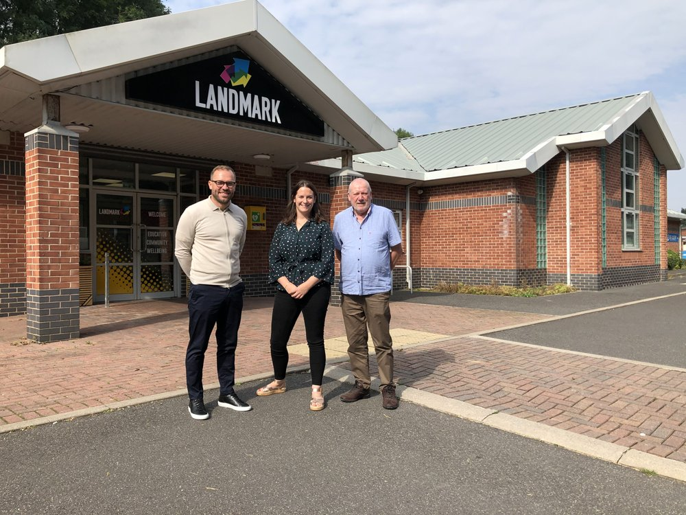 REAL FOUNDATION TRUST OPENS LANDMARK BUILDING