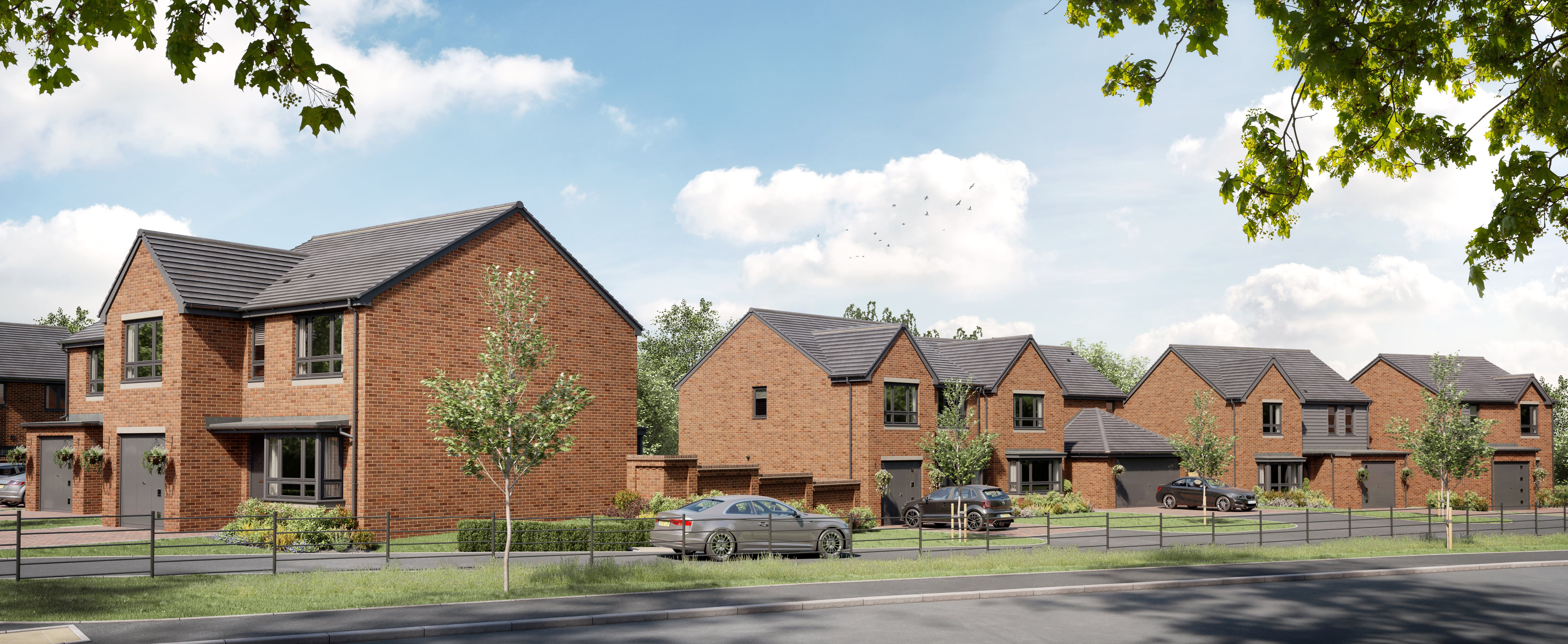 Construction underway on over 230 new homes at Shipley Lakeside