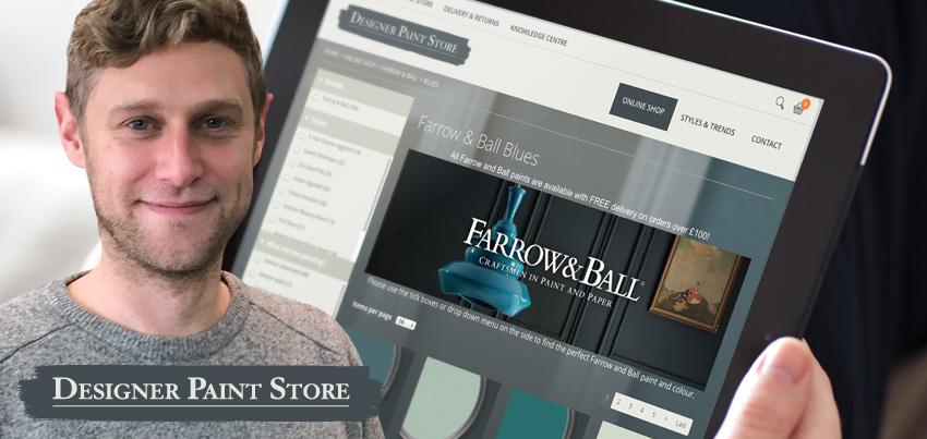 A fresh coat for Designer Paint Store
