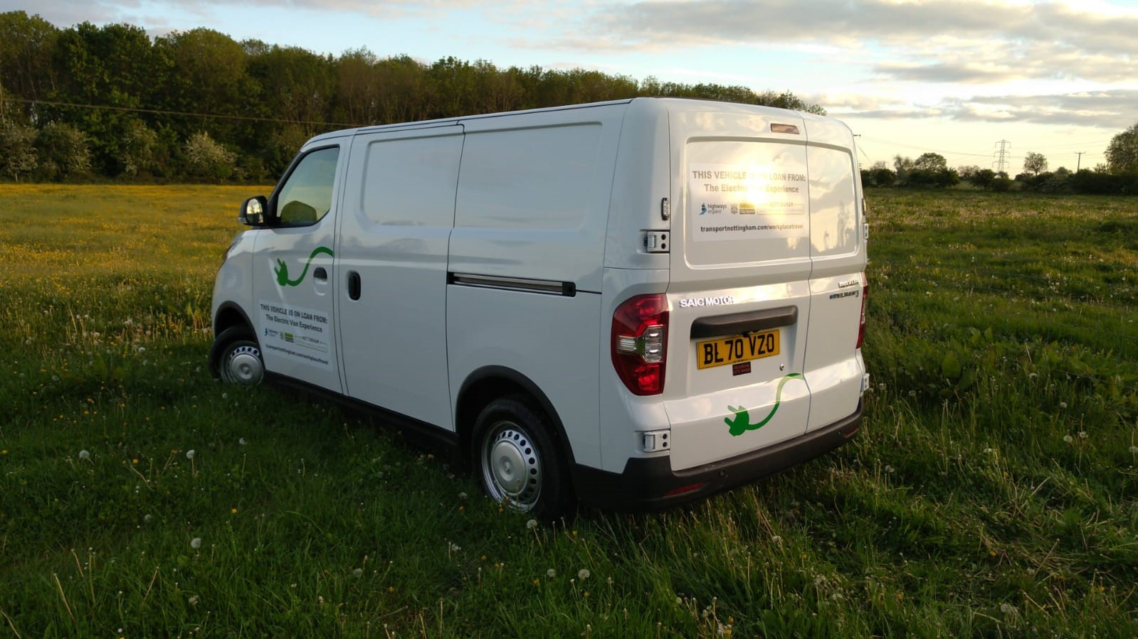 Notts Funeral Directors Trial City Council's Electric Van Experience
