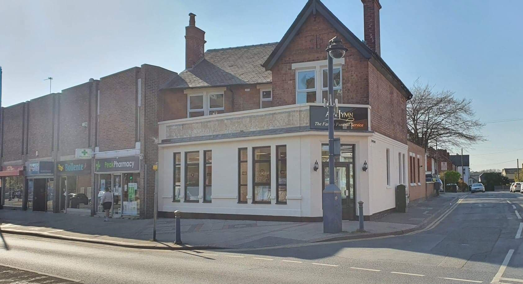 Old Stapleford Bank Transformed to Home Notts Funeral Directors A.W. Lymn