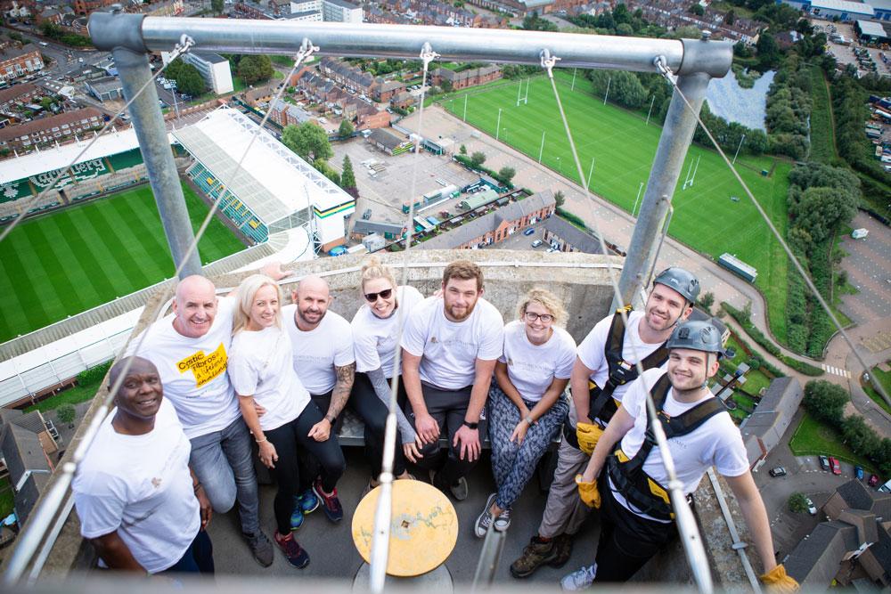 Barratt and David Wilson Homes raises over 40k for Cystic Fibrosis Trust