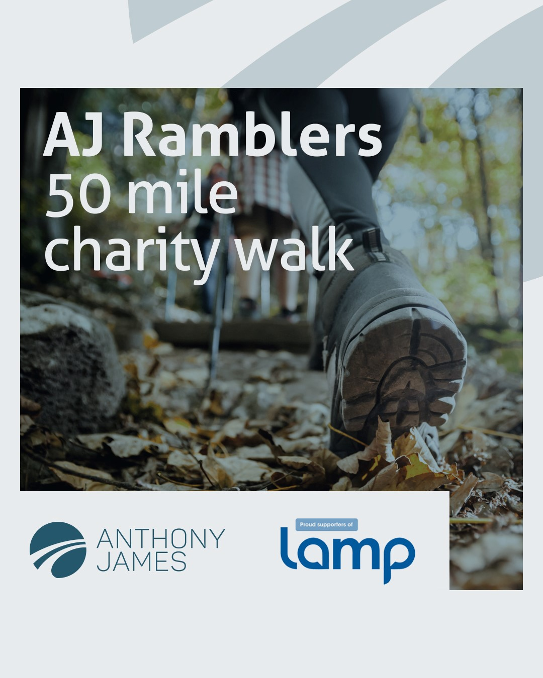 Anthony James insurance brokers to support Lamp mental health charity