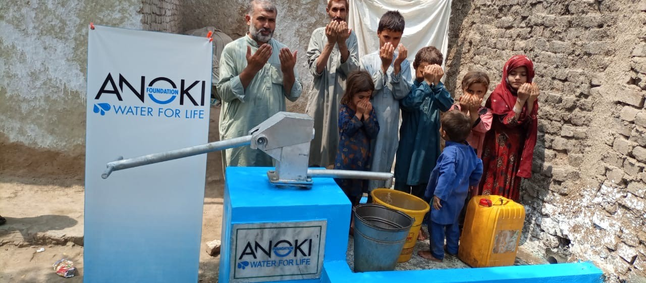 Anoki Restaurant raises more than £6,000 in just a month to provide clean water across Pakistan