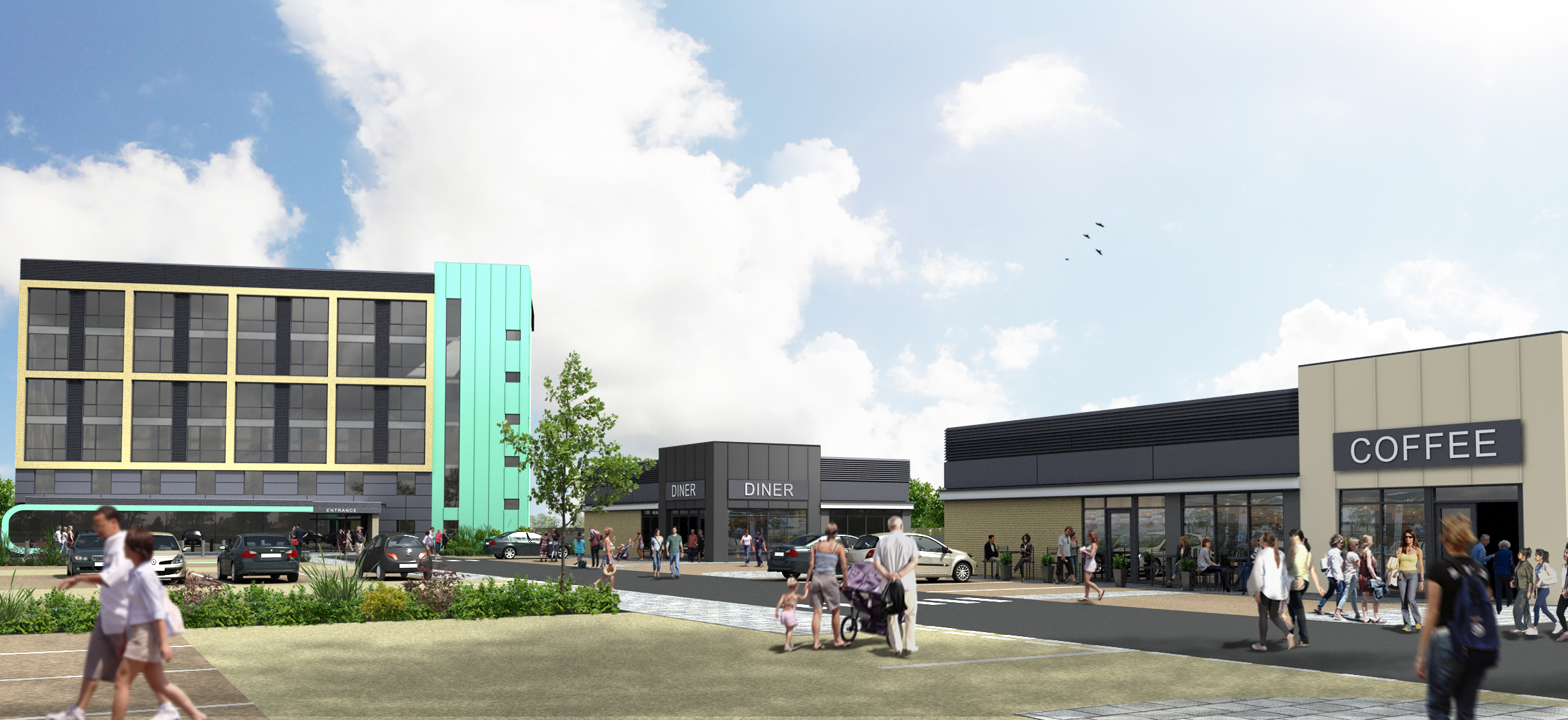 Green light for £12m town centre regeneration in Mansfield