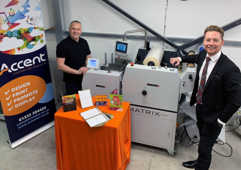 Derby based commercial printer invest in new, automated laminating solution