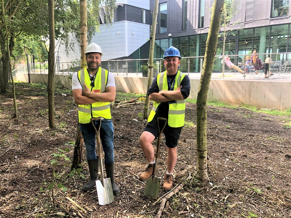 Space Park Leicester embraces nature with £20,000 biodiversity project