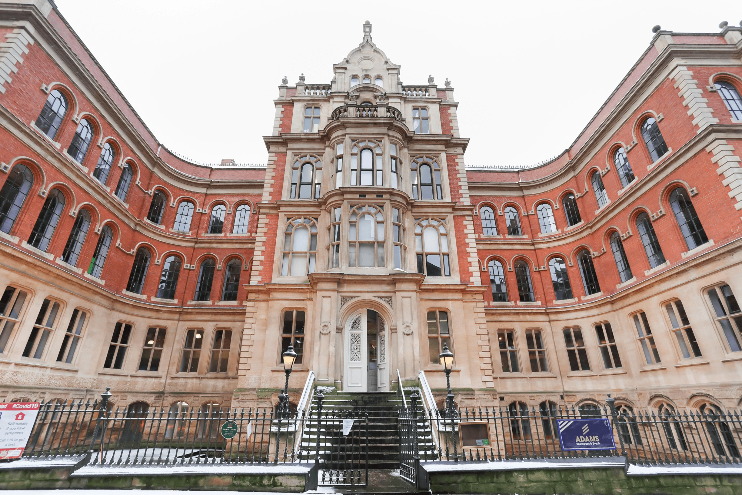 J Tomlinson completes comprehensive refurbishment of historic Grade II* college building in Nottingham