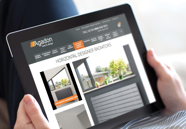 Agadon launches new website