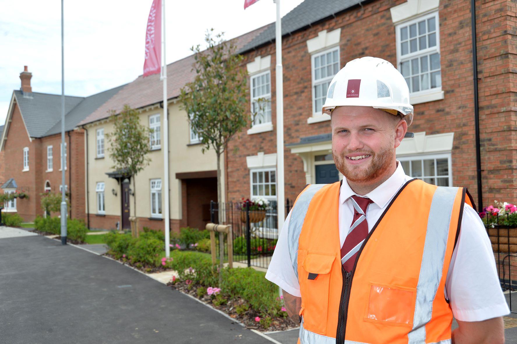 Davidsons Homes employee climbs the career ladder