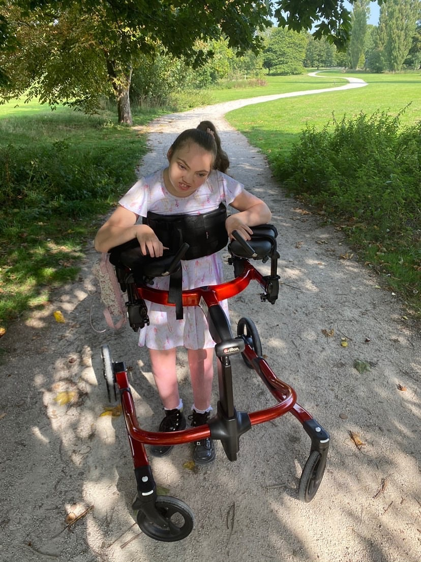 Derbyshire youngster with complex disabilities set to take on a Parkrun thanks to specialist postural support equipment