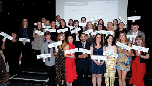 Northamptonshire Trust and NHS Partners announce winners of the 2019 Apprenticeship Awards