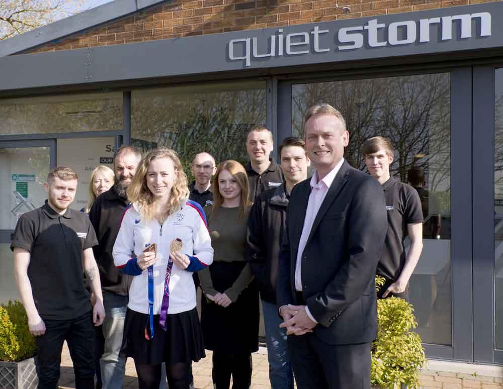 Quiet Storm backs Amy's Olympics dream