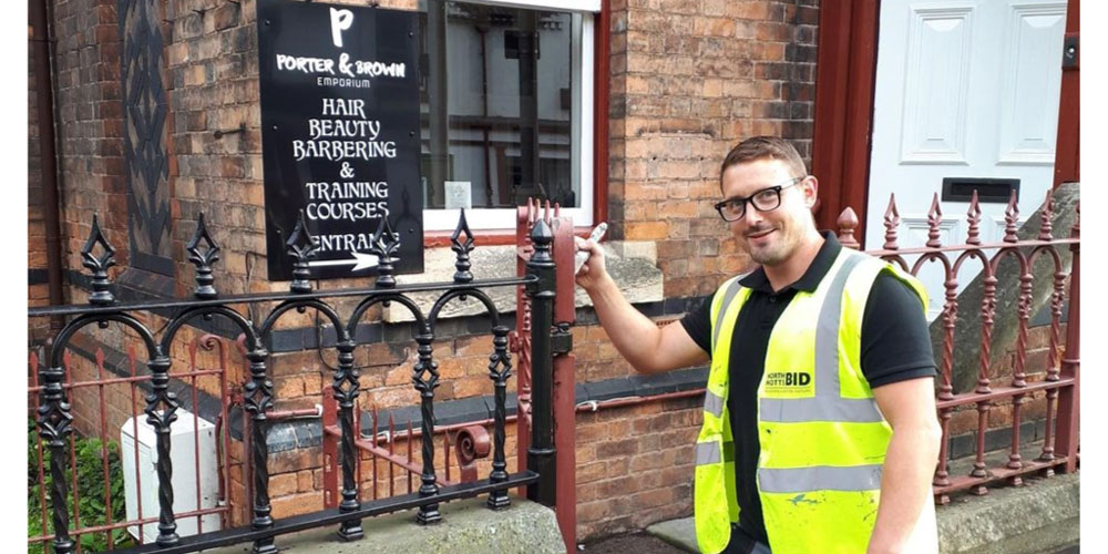 Businesses keep spick and span with new service from North Notts Bid