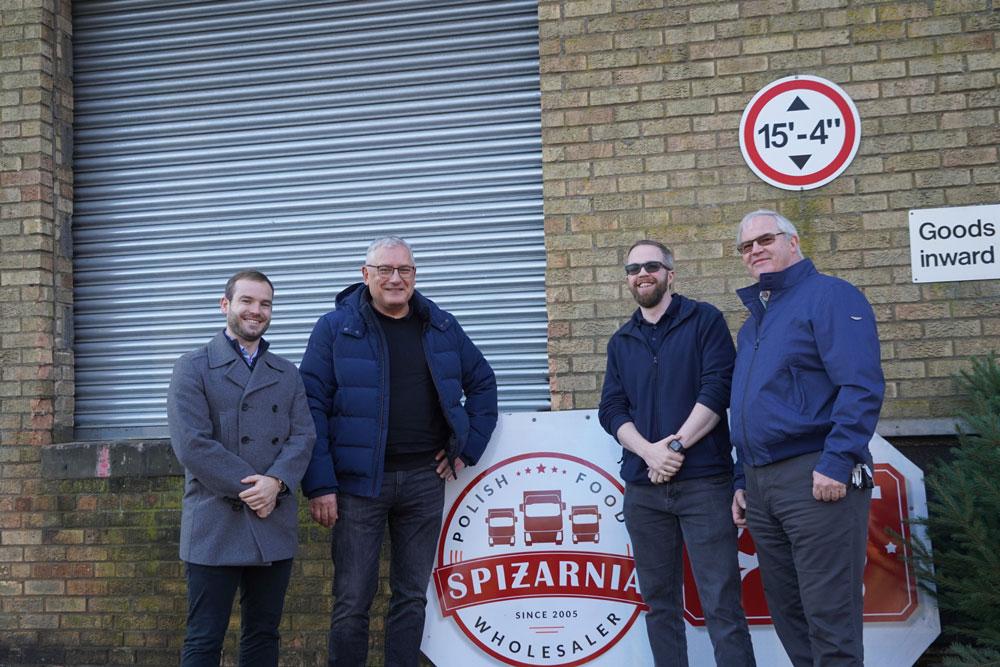 Food distribution returns to former Co-op site