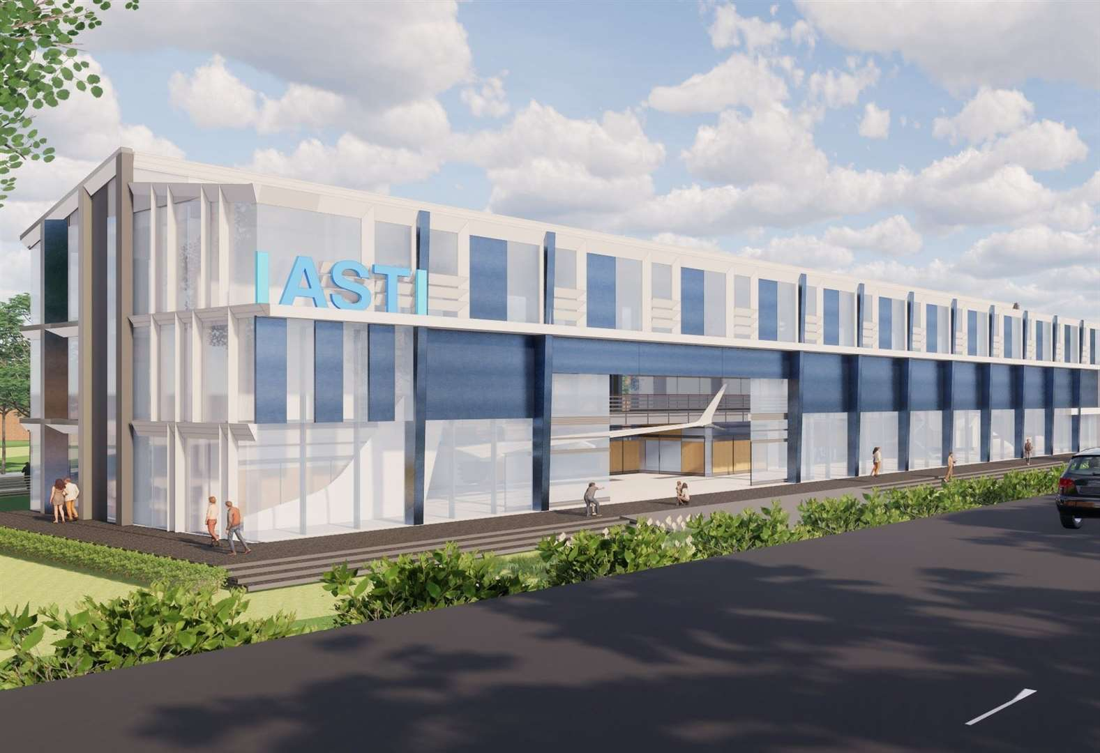 Work underway to create the UK's first International Air and Space Training Institute