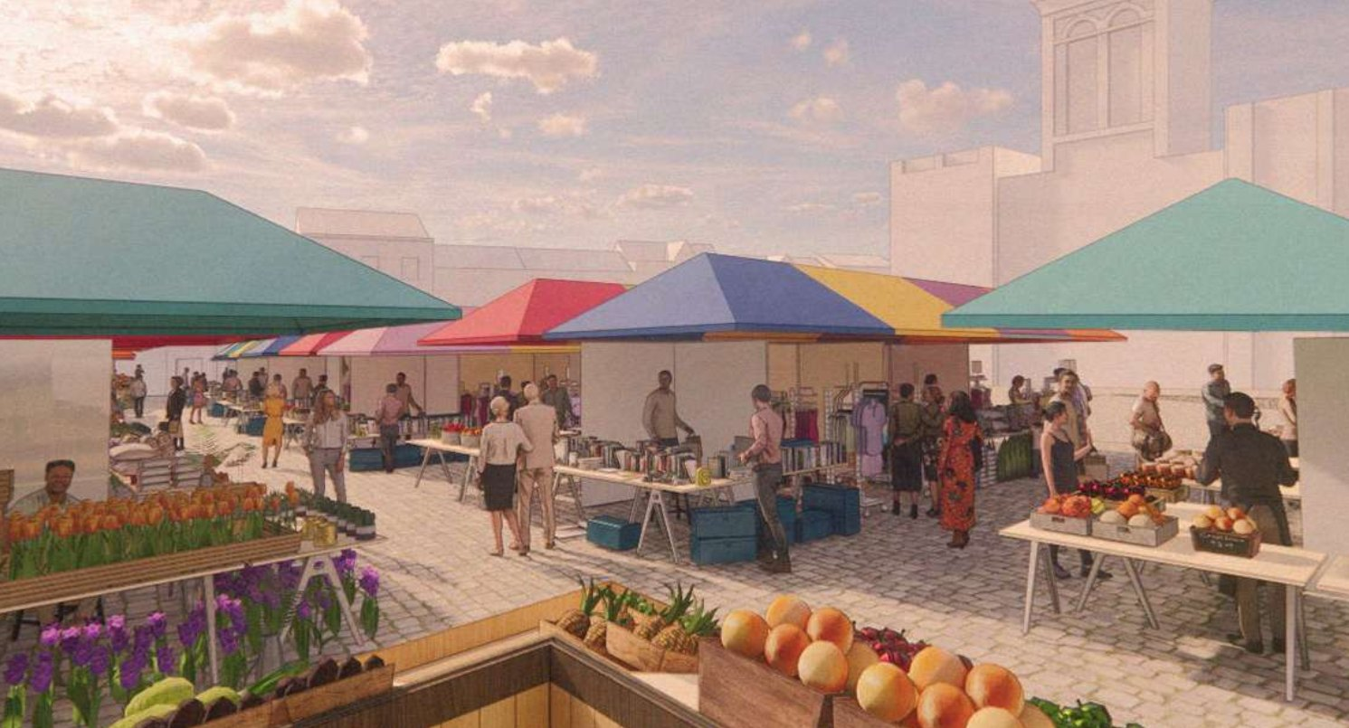 Ambitious plans to revitalise Chesterfield Market