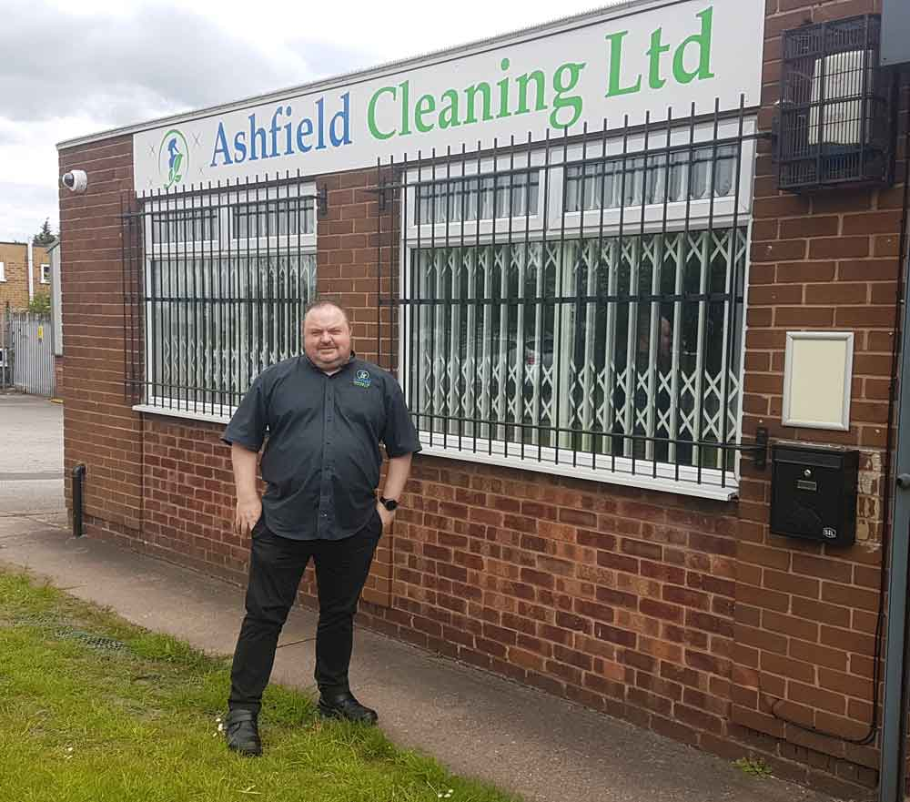 Business is booming for Nottinghamshire cleaning company