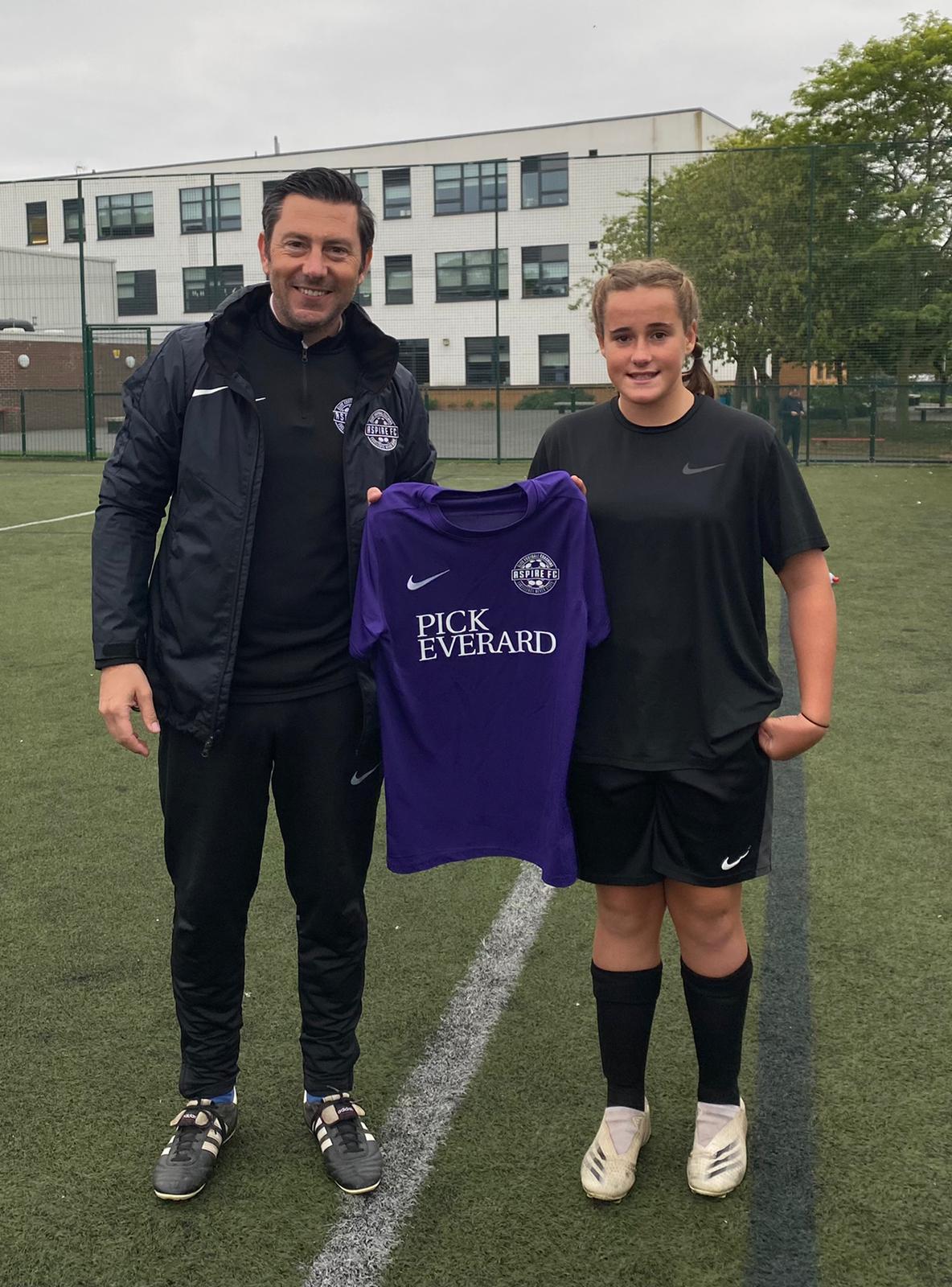 East Mids collaboration produces vital girls football sponsorship