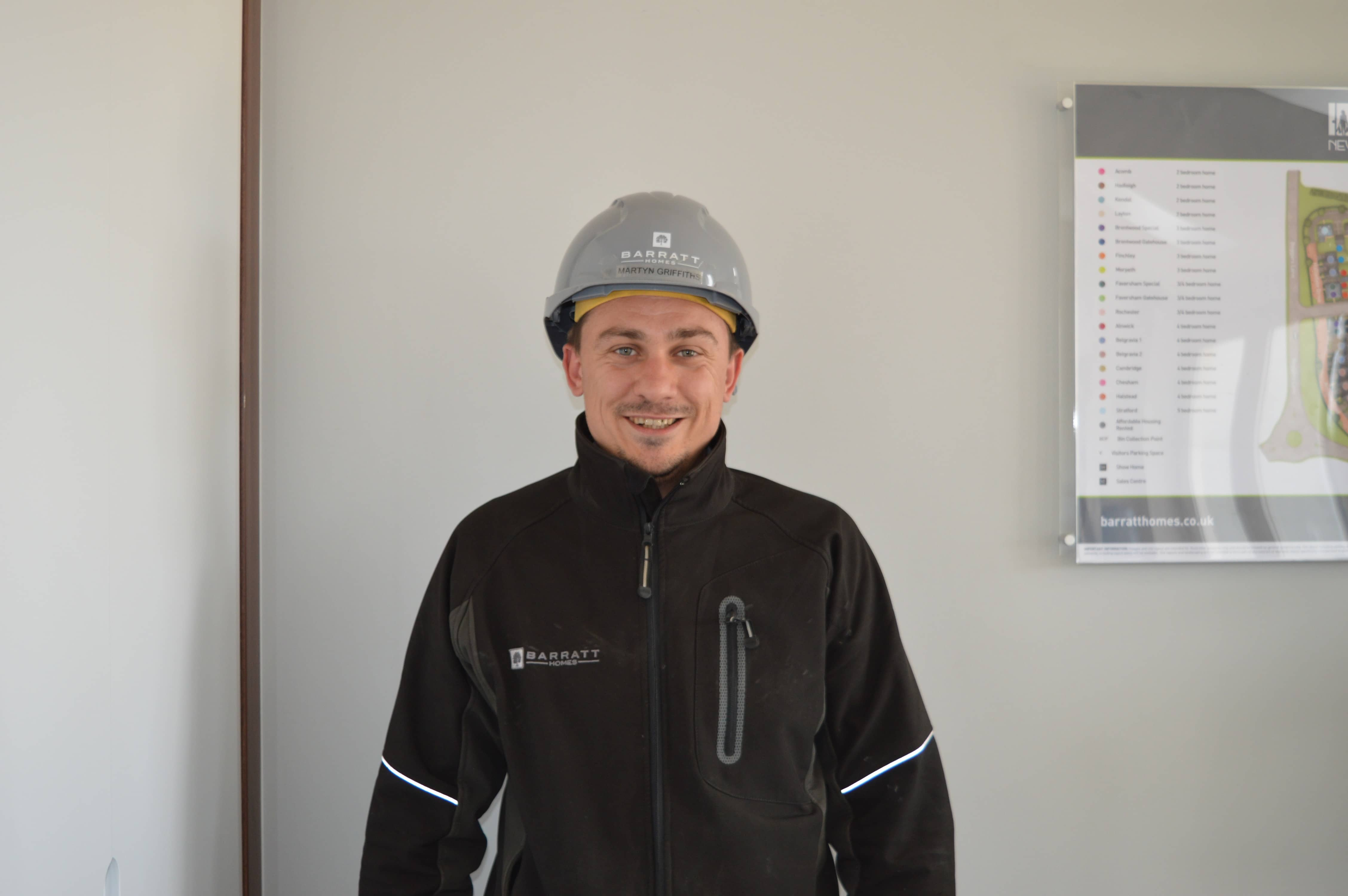 BARRATT HOMES SITE MANAGER IN HUGGLESCOTE RECOGNISED AS BEST IN THE COUNTRY FOR QUALITY