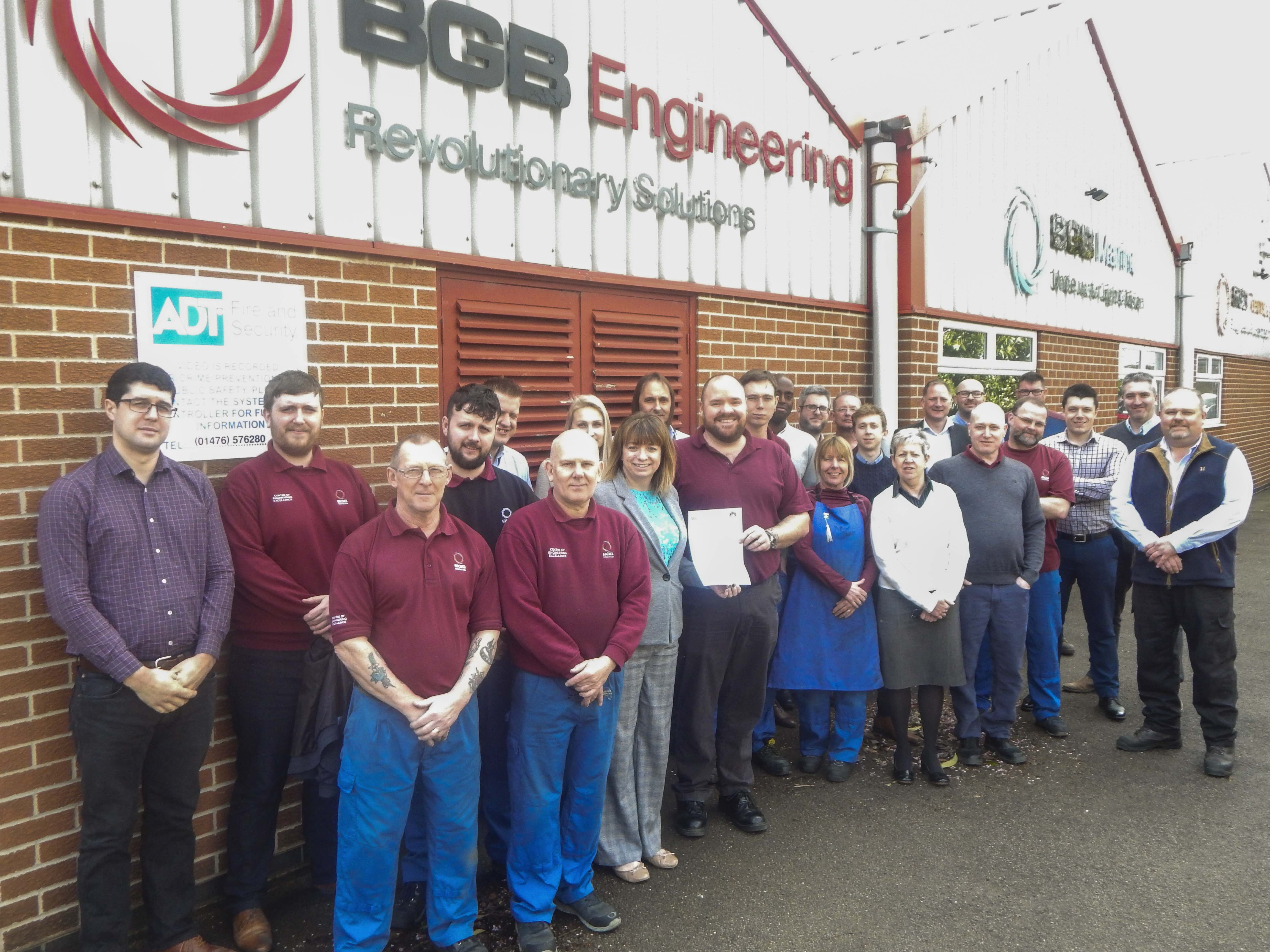 BGB recognised for high safety standards