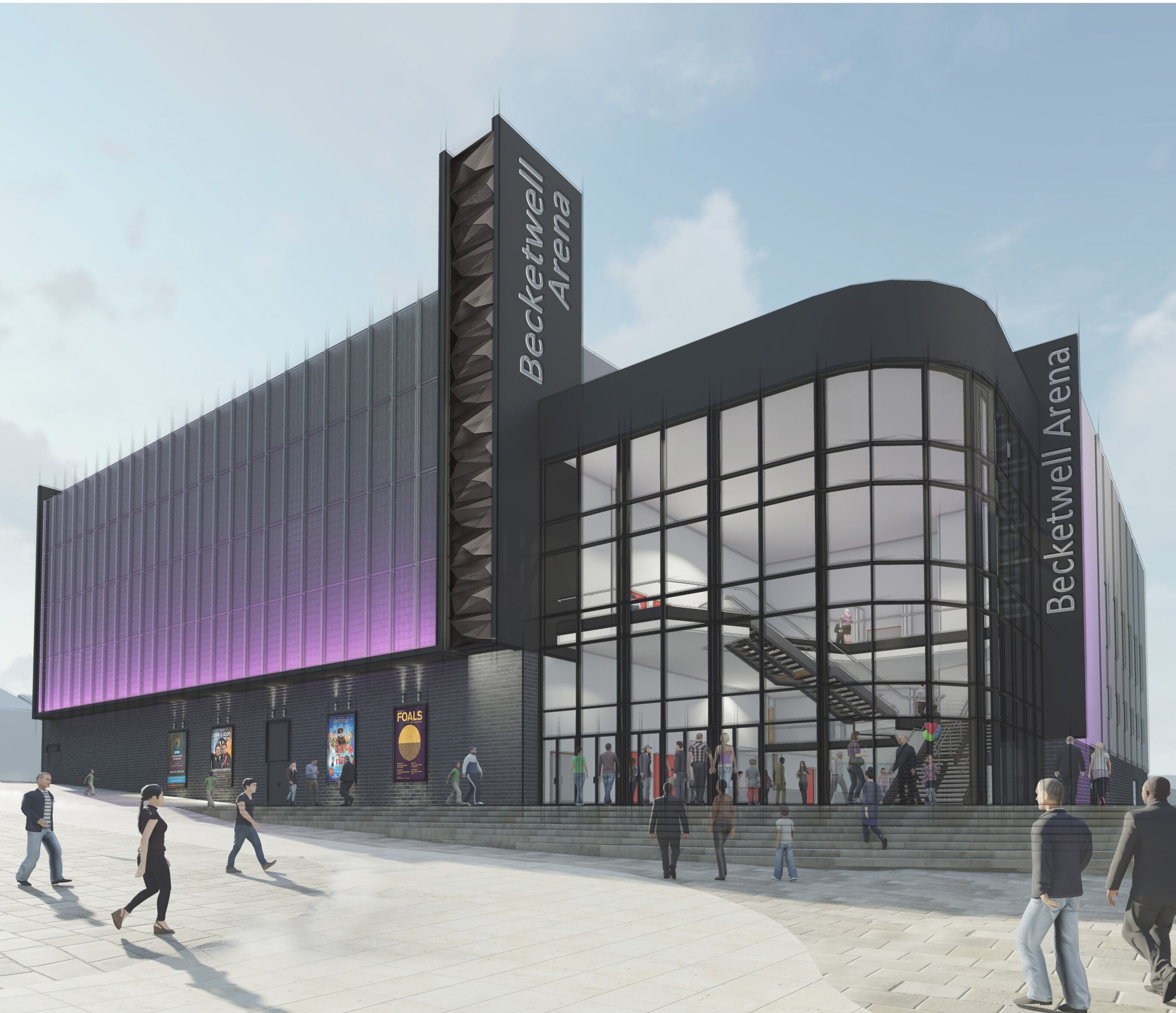 OVERWHELMING SUPPORT FOR THE NEW BECKETWELL PERFORMANCE VENUE FOLLOWING PUBLIC CONSULTATION EVENT