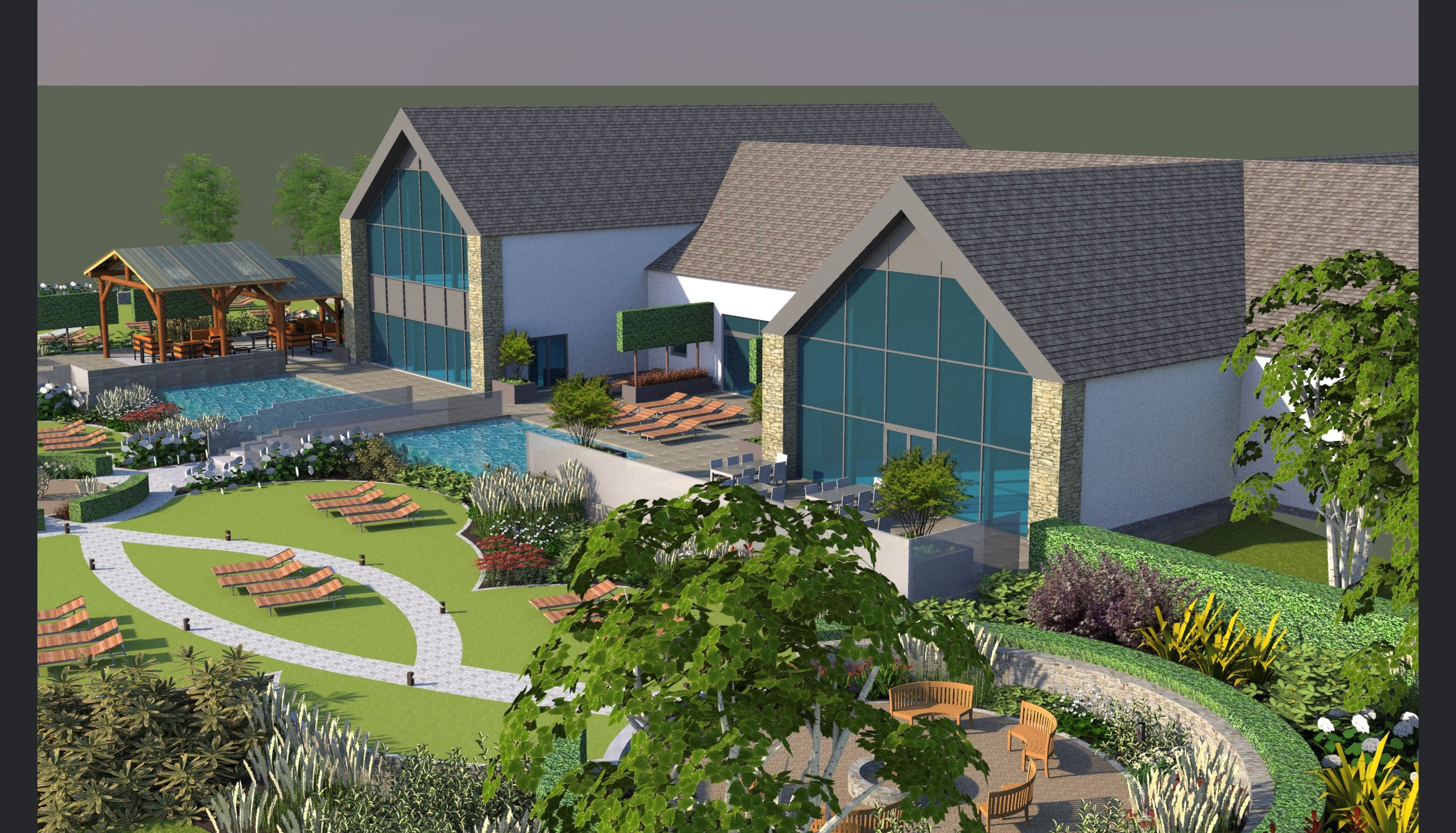 WORK STARTS ON A NEW SPA AT BREEDON PRIORY HEALTH CLUB