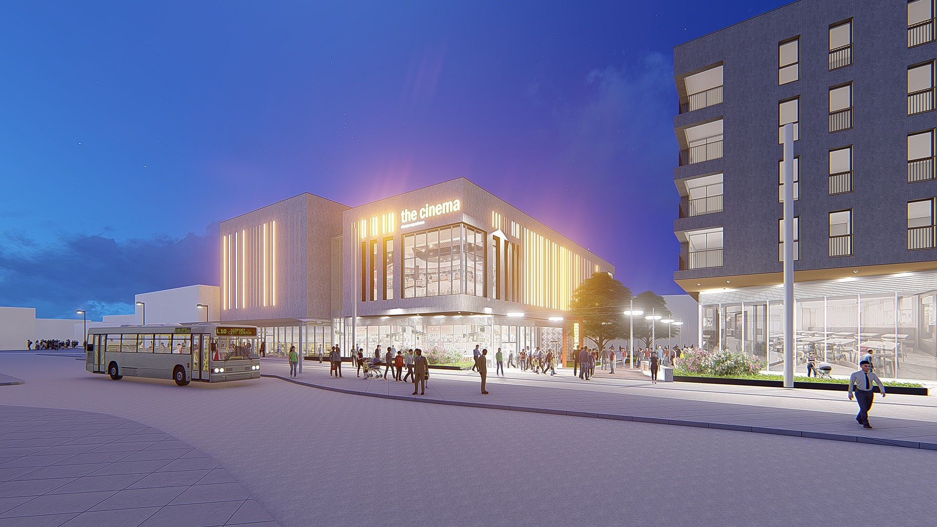 DECEMBER HANDOVER ANNOUCED FOR BEESTON CINEMA PROJECT