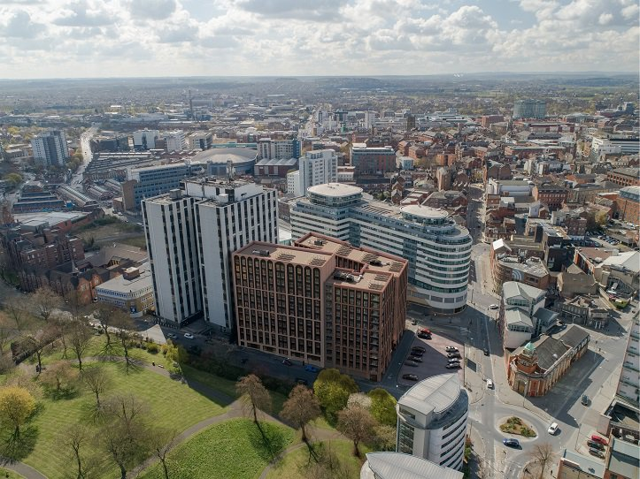 Resolution to grant approval for Notts 692-bed Bendigo Building student scheme